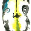 143. De onnozelaar, 2011, ecoline and ink on paper, 32,5x25cm.