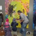 Live schilderen bij IJsbeelden Festival met Marcel Veltmaat