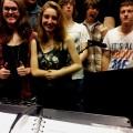 'Paparazzi' CRUE, vlnr: Esther, Mathijs, Carlyn, Melvin, Vincent & Niels, 2013-05-14