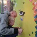 'Live' schilderen Steijn en Maarten Vonk Noordergraaff
